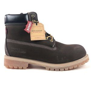 Levis Harrison Chocolate Water Resistant Boots